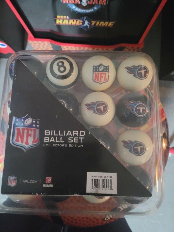 NFL Tennessee Titans Pool Ball Billiards Balls Set