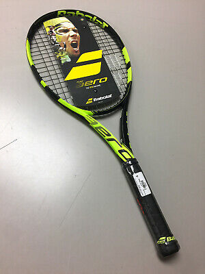 BABOLAT PURE AERO Strung 2017 New Graphite Racquet 4-1/2 grip 100 sq.in HeadSize
