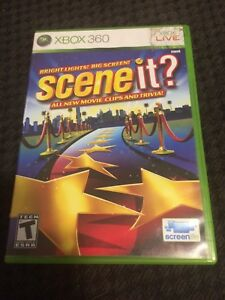 Scene It! Package for XBOX 360