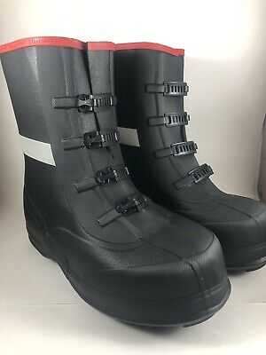 TINGLEY WinterTuff Ice Traction Over Boot Sz 13 Waterproof Studded 4450 Overshoe - Studded Schuh Stiefel