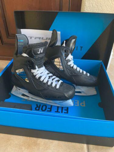 TRUE Hockey Skates with Shot Blockers with Tuuk sz 280 holders
