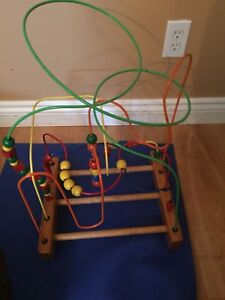 Wooden Bead Wooden Toy- Educational Brain Toy