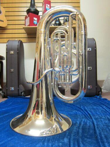 Catelinet HC80S EEb Tuba – Silver-plate (New instrument)