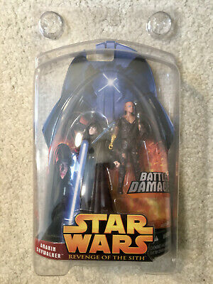 Star Wars Revenge of the Sith Anakin Skywalker Mint Protective Case Hasbro NEW
