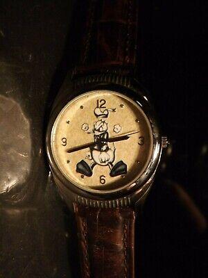 Disney Mens Vintage Donald Duck Watch (YOYO)-(Fossil)Pin-Retired-VVHTF-Brand New