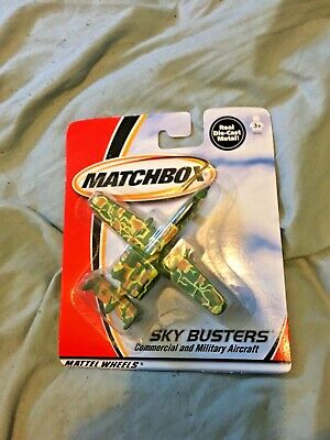 New, in Package, Matchbox Sky Busters Military Die-Cast Airplane