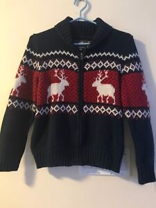 H&M GIRLS L.O.G.G sweater KNIT 5% WOOL