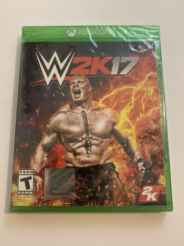 WWE 2K17 Wrestling Microsoft XBOX ONE - Brand New SEALED