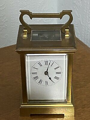 Antique Brass Carriage Clock