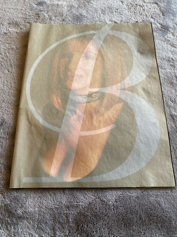 Vintage 1994 Barbara Streisand The Concert Large Signed Program Rare!
