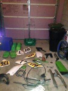 Tons of spare parts for kx 85