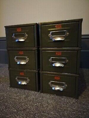 Vintage Index Filling Cabinet