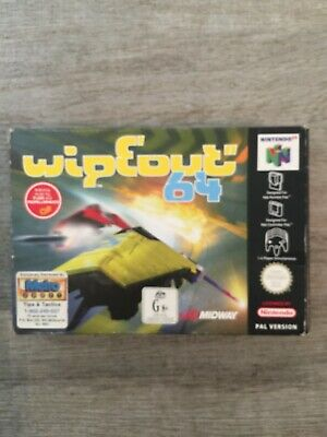 WIPEOUT 64 - Complete Boxed CIB N64 PAL