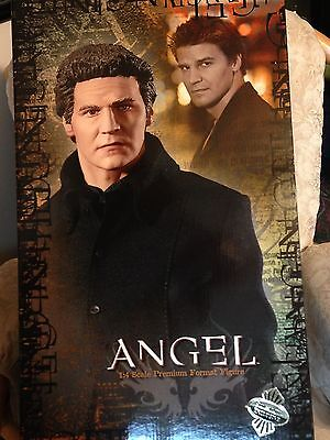 Buffy the Vampire Slayer PREMIUM FORMAT ANGEL Figure, SIDESHOW EXCLUSIVE EDITION
