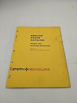 New Holland Service Parts Catalog Model 790 Manure Spreader 5-74