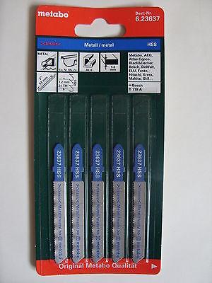 Metabo Stichsägeblätter Stichsägeblatt 51/1,2 mm Art. 6.23637 für Metall Bleche
