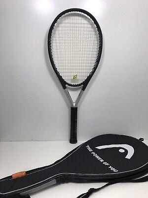 New HEAD Ti.S6 4-1//8 Grip-Cordée Avec Vibration Amortisseur Raquette de Tennis