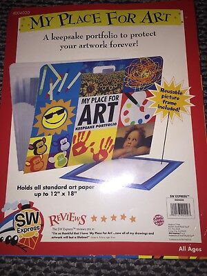 SW Express My Place for Art - Children's Art Portfolio - FREE SHIPPING