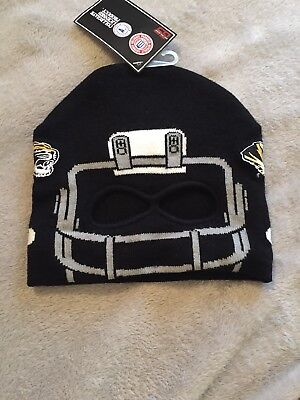 MISSOURI TIGERS NCAA YOUTH FOOTBALL HELMET BEANIE HAT CAP GENUINE STUFF NWT