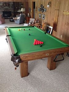 Moving Sale!  Snooker Table