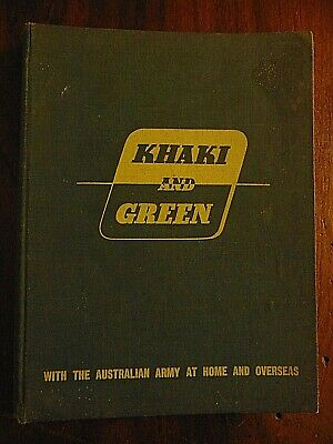 1943 Australian Army Khaki and Green Real Photos and Articles by Aust Soldiers