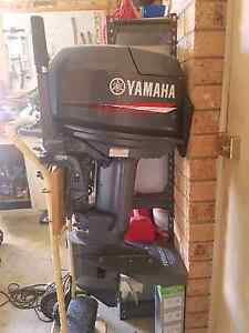 Yamaha 30hp CV outboard with Permatrim Quakers Hill Blacktown Area Preview
