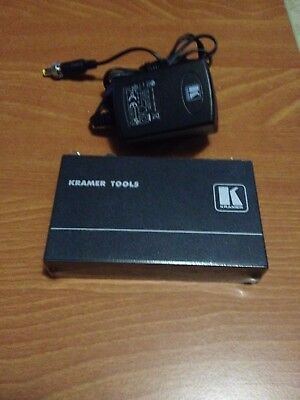 (KRAMER TP-122N Computer Graphics Video & Stereo Audio over Twisted Pair Receiver)