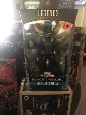 Marvel Legends Thor Ragnarok HELA Build a Figure Hulk New Sealed
