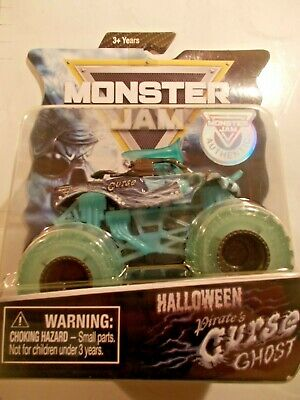 Monster Jam Halloween 2019 PIRATES CURSE GHOST Spin Master 1 / 5000 Glow In Dark