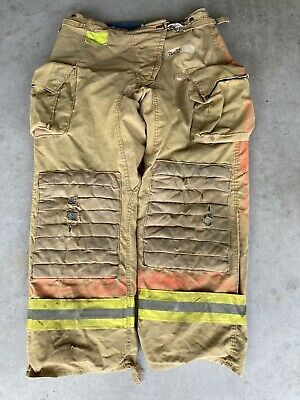 Firefighter Honeywell Morning Pride Turnout Bunker Pants 36x32 Costume Used