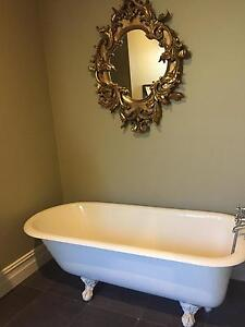 Cast iron antique claw foot bath Ultimo Inner Sydney Preview