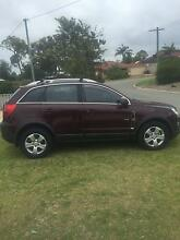 2012 Holden Captiva Wagon Perth Region Preview