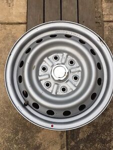 4x steel rims for Triton. St Georges Burnside Area Preview