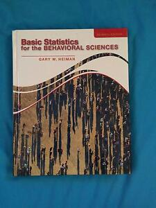Basic Statistics for the Behavioral Sciences -Gary W. Heiman Eight Mile Plains Brisbane South West Preview