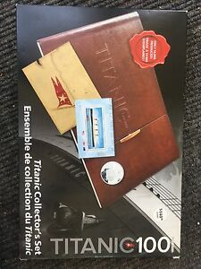 Titanic Collector's Set Sealed/Unopened with Stamp and Coin