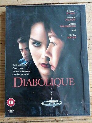DIABOLIQUE DVD Sharon Stone Isabelle Adjani Jeremiah UK Rele Brand New Sealed R2