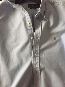 Light blue ralph lauren dress shirt (30$ Size small)