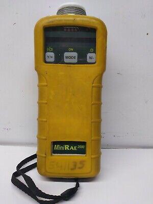 Rae Systems Minirae 2000 Pgm7600 Portable Organic Compound Voc Monitor