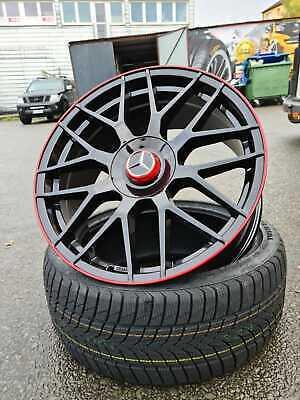 19 Zoll GT1 Felgen für Mercedes CLA C117 C118 A45 A35 AMG Shooting Brake Limo