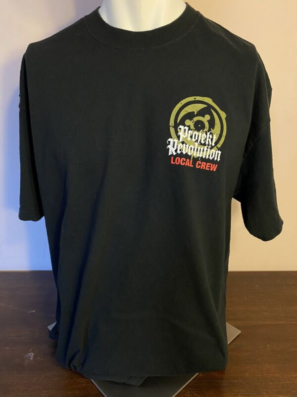 Linkin Park Rare Local Crew Tour Shirt Size XL Projekt Revolution