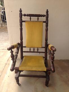 1930u0027s Edwardian Dexter Rocking Chair