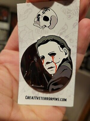 Halloween Michael Myers Horror Enamel Pin Limited To 10 Jamie Lee Curtis Castle