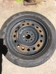 Spare tire and rim