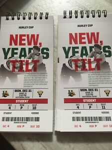 Mooseheads Hurley Cup lower bowl tickets New Years Eve