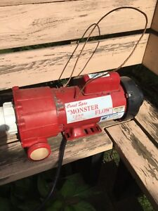 7 HP Monster flow Coast Spas pump motor