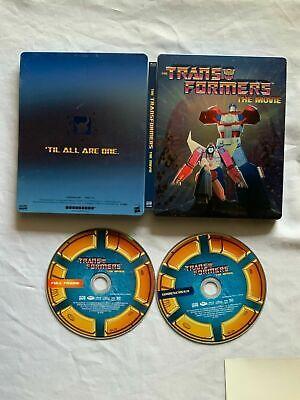 Transformers: The Movie Blu-ray Disc, 2016, 30th Anniversary Edition SteelBook