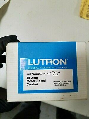 Lutron Motor Speed Controller 10 Amp 10 Amp Speed Controller
