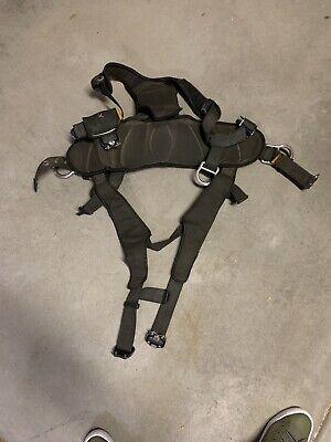 Dbi Sala Exofit Climbing Safety Harness Blue Size Small W Belt