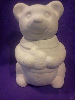 Керамика под покраску Bear with a