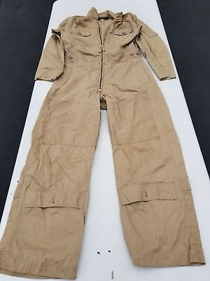 WW2 US Navy/Marine M-668 Summer Flight Suit 38 Long Unissued Condition Rare Marine Flight Suit